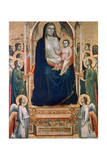 Madonna and Child Enthroned, C1300-1303 Giclee Print by  Giotto
