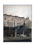 Gateway of Winchester Place, London, 1820 Giclee Print by George Shepherd