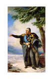 Portrait of Field Marshal Prince Mikhail Kutuzov, 1829 Giclee Print by George Dawe
