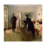 Unexpected Return, C1884-C1888 Giclee Print by Il'ya Repin