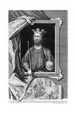 Edward II of England. 18th Century Giclee Print by George Vertue
