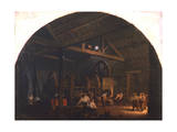 The Tilt Forge, C1845-1866 Giclee Print by Godfrey Sykes
