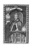 John of Gaunt, 1st Duke of Lancaster, (18th Centur) Giclée-Druck von George Vertue