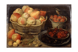 Still Life with Fruit, Late 16th-Early 17th Century Giclee Print by Georg Flegel