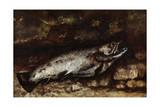 The Trout, 1873 Giclée-Druck von Gustave Courbet