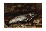 The Trout, 1873 Giclee Print by Gustave Courbet