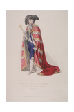 Lord Mayor of London, John Thomas Thorp, Dressed for a Royal Coronation, 1821 Giclee Print by Henry Meyer