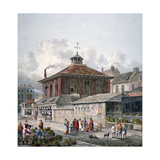Clare Market, Westminster, London, 1815 Giclee Print by George Shepherd
