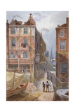 Hungerford Stairs, Westminster, London, C1815 Giclee Print by George Shepherd