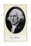 George Washington, the First President of the United States Giclee Print by Gordon Ross