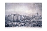 King William Street, London, 1830 Giclee Print by George Scharf