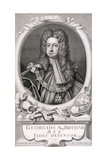 George I, King of Great Britain, 1718 Giclée-Druck von George Vertue