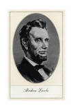 Abraham Lincoln, 16th President of the United States Giclee Print by Gordon Ross