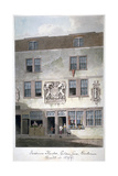 Fortune Theatre, Golden Lane, London, 1811 Giclee Print by George Shepherd