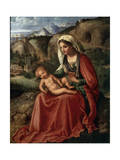 The Virgin and Child in a Landscape, C1503 Giclee Print by  Giorgione