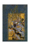 Folio from Mantiq Al-Tayr (The Language of the Bird), by Attar, C1600 Giclee Print by Habib Allah