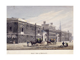 Newgate Prison, Old Bailey, London, C1815 Giclee Print by George Shepherd
