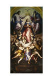 The Coronation of the Virgin, 1571 Giclee Print by Giorgio Vasari