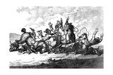 Hounds Throwing Off, 1800 Giclee Print by Henry William Bunbury