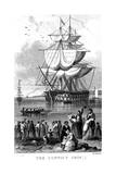 The Convict Ship, C1820 Giclee Print by Henry Adlard