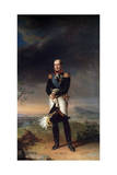 Portrait of Field Marshal Count Mikhail Barklay-De-Tolli, 1829 Giclee Print by George Dawe