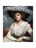 Lady Mary Forbes, 18th Century Giclee Print by George Romney