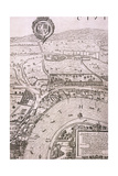 Map of London, 1560 Giclee Print by George Vertue