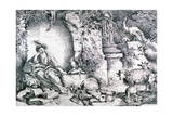 Circe Changing Ulysses' Men, C1650 Giclee Print by Giovanni Benedetto Castiglione