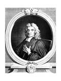 John Flamsteed, English Astronomer and Clergyman, 1712 Giclée-Druck von George Vertue