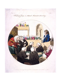 The Deaf Judge, or Mutual Misunderstanding, Old Bailey, London, 1796 Giclee Print by Isaac Cruikshank