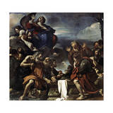 The Assumption of the Blessed Virgin Mary, 1623 Lámina giclée por  Guercino