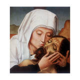 Lamentation over Christ, Early 16th Century Giclee Print by Gerard David