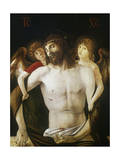 The Dead Christ Supported by Angels, 1465-1470 Giclee Print by Giovanni Bellini