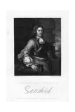 Edward Montagu, 1st Earl of Sandwich, English Naval Officer Giclee Print by Henry Thomas Ryall