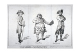 The Rival Candidates, 1784 Giclee Print by Isaac Cruikshank