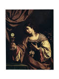 Allegory of the Faith, Early 1630S Lámina giclée por  Guercino
