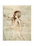 Child's Figure in Drapery, 17th Century Lámina giclée por  Guercino