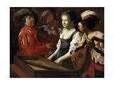 Concert, 1626 Giclee Print by Hendrick Ter Brugghen