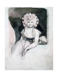 Portrait of Mrs Fuseli, 1741-1825 Giclee Print by Henry Fuseli