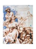 Pyrrha, C1635-1670 Giclee Print by Giovanni Benedetto Castiglione