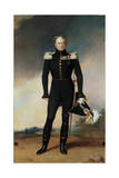 Portrait of Emperor Alexander I, 1825 Giclee Print by George Dawe