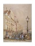 View of Smithfield Market, City of London, 1844 Giclee Print by George Sidney Shepherd