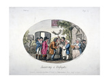 Swearing at Highgate, 1796 Giclee Print by Isaac Cruikshank