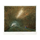 The Tunnel, 1831 Giclee Print by Henry Pyall