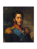 Prince General Pyotr Ivanovich Bagration, Russian Soldier, 1820 Giclee Print by George Dawe