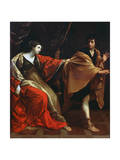 Joseph and Potiphar's Wife, C1626 Giclee Print by Guido Reni