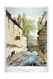 Knights' Bridge, Knightsbridge, Westminster, London, C1825 Giclee Print by Giles Firman Phillips