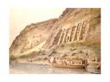 Abu Simbel, Egypt, 19th Century Giclee Print by Hector Horeau