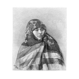 A Woman of Brussa, Turkey, 1895 Giclee Print by Henri Thiriat