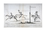 Westminster Races..., 1784 Giclee Print by Isaac Cruikshank